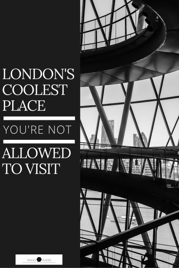 WHAT IS ONE COOL PLACE YOU HAVE VISITED WHERE THE PUBLIC IS NOT USUALLY ALLOWED? my absolute favourite (until further notice) is London City Hall. It is an absolute stunning building designed by the architect Norman Foster