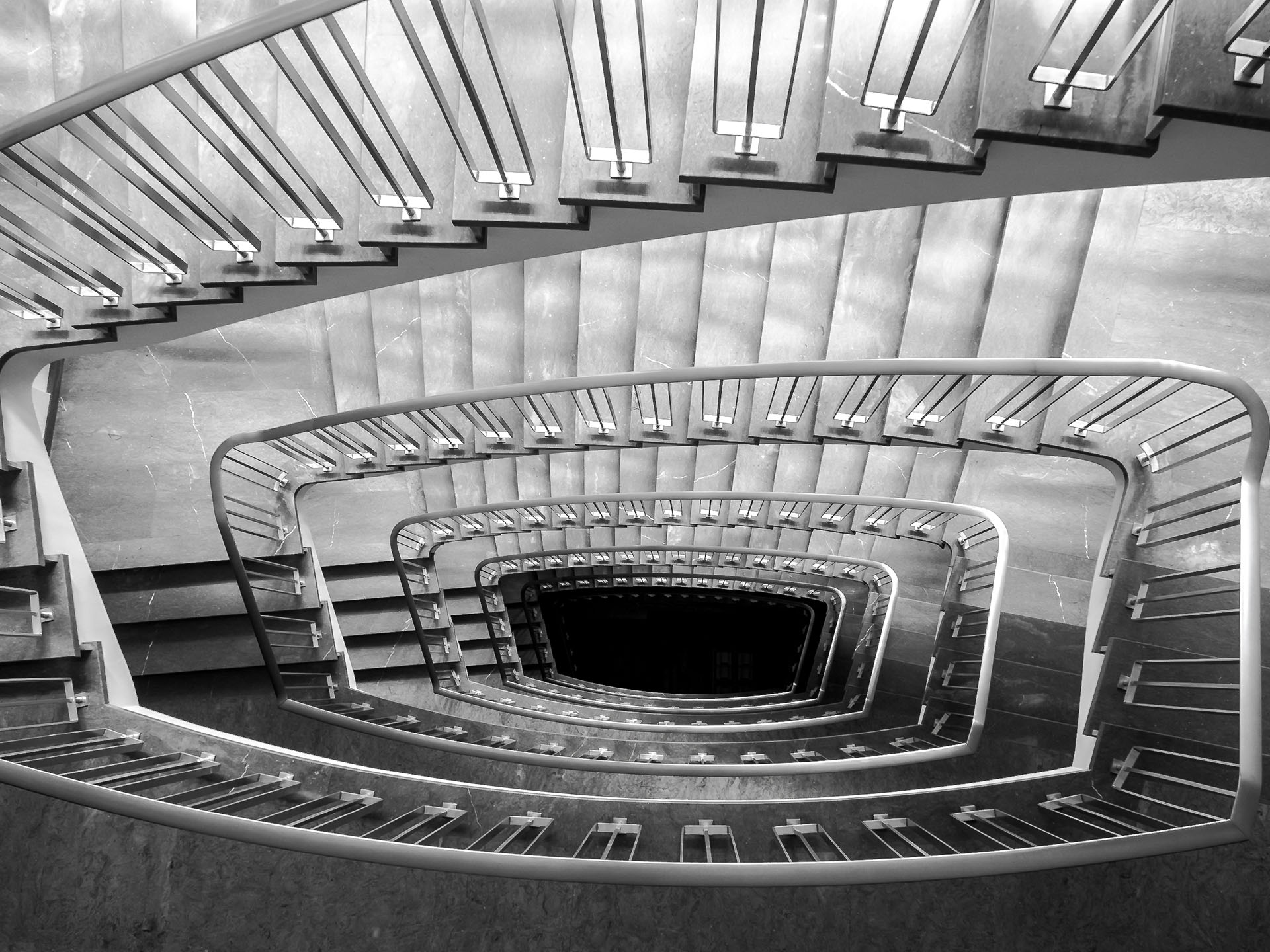 staircase Lausanne-Switzerland-architecture-city-guide